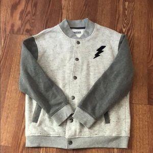 Kids boys Gymboree varsity jacket size 14